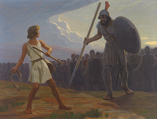 David versus Goliath: lessons in digital strategy. Courtesy of Wiki Commons