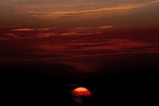 A sunset courtesy of Wiki Commons
